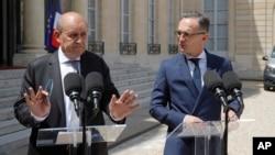 Міністри закордонних справ Франції та Німеччини