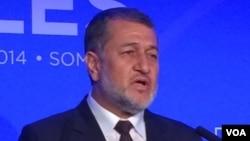 بسم الله خان محمدی، وزیر دفاع افغانستان