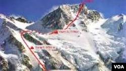 Himalay zirvəsi Nanga Parbat