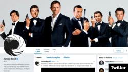 James Bond 007 Twitter ရဲ႕ Screenshot.
