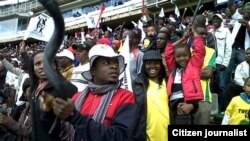 Highlanders supporters