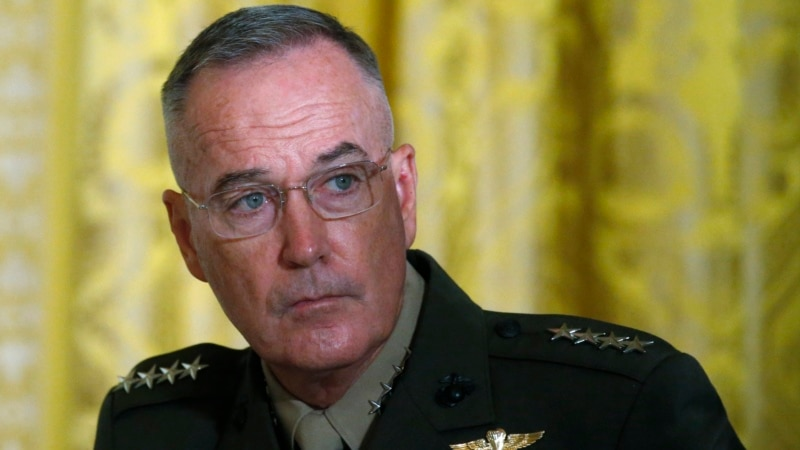 Dunford: Google's Work with China 'Challenges' US Military Advantage