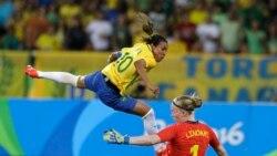 Rio အိုလံပစ္ ဂ်ာမနီနဲ႕ ဆီြဒင္ အမ်ဳိးသမီးေဘာလံုးအသင္းေတြ ဖိုင္နယ္လ္တက္