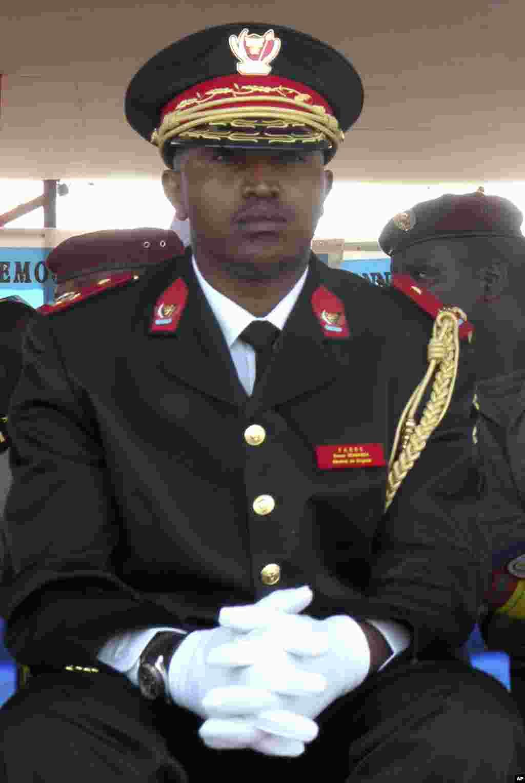 L'ancien chef de guerre congolais Bosco Ntaganda assiste à la célébration du 50e anniversaire de l'indépendance du Congo, à Goma, le 30 juin 2010.