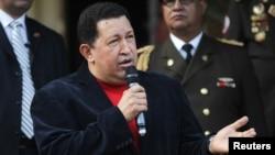 Predsednik Venecuele Hugo Čavez