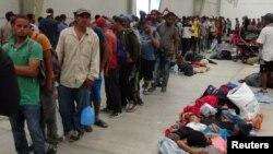 AQShga kirishga urinayotgan muhojirlar, Syudad-Istepek, Meksika