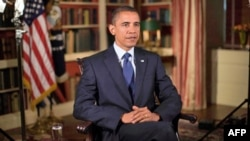 TT Obama trong cuộc ghi âm bài phát biểu hàng tuần phát ngày 21 tháng 8, 2010