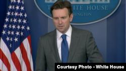 白宫发言人欧内斯特(图片来源 :白宫)