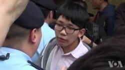 几十香港人抗议大陆水货客