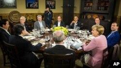 八國集團峰會剛剛在北愛爾蘭結束