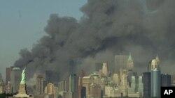 2001년 9.11 테러 당시 뉴욕 (자료사진)