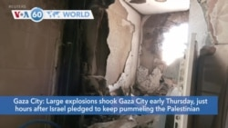 VOA60 World -Israel's military commanders have drafted a battle plan for an incursion into Gaza