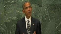 奧巴馬在聯合國大會發表講話