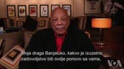 Obraćanje Quincy Jonesa