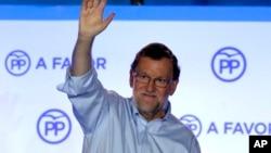 Vršilac dužnosti premijera Španije Mariano Rahoj