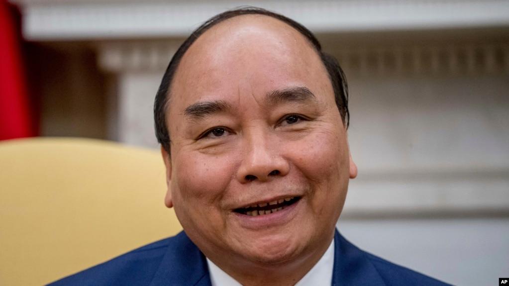 Ông Nguyễn Xuân Phúc. (AP Photo/Andrew Harnik)
