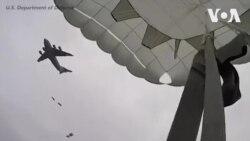 Quân đội Hoa Kỳ nhảy dù tại căn cứ quân sự lớn nhất thế giới