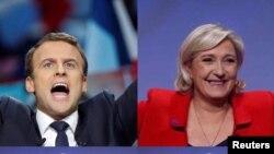 Emmanuel Macron e Marine Le Pen passam à segundo volta
