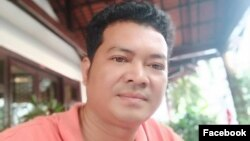 Kong Mas, CNRP official in Svay Rieng province, was arrested Jan. 16, 2019, in Phnom Penh for criticizing Cambodian government.