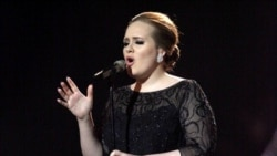 Adele performs in February during the Brit Awards 2011 in London