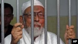 Abu Bakar Baasyir termasuk salah satu terpidana teroris yang dikatagorikan masih keras atau mempertahankan ideologi radikalnya (foto: dok).