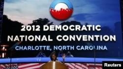 ԱՄՆ-ի առաջին տիկին Միշել Օբաման իր ելույթից մեկ օր առաջայցելել է դեմոկրատական կուսակցության համագումարի անցկացման վայրը
