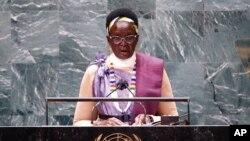 ربیکا نیاندنگ د مابیور، معاون رییس جمهور سودان جنوبی