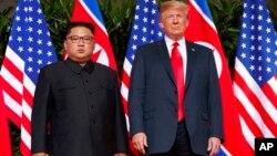 Shugaba Trump da Shugaba Kim