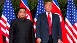 Singapore lajere, President Trump ni, VOA lasigiden Greta barola nyongonyew kofe