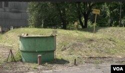 Могильники з радіоактивними відходами під Києвом