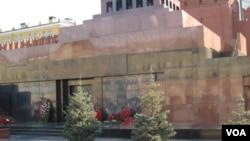 红场列宁墓 美国之音白桦