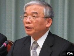 台灣法務部次長 陳守煌(美國之音 張永泰拍攝)