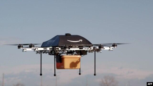 Симуляция почтового дрона