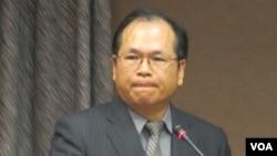 台湾陆委会副主委林祖嘉(美国之音张永泰拍摄)