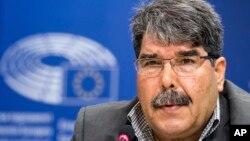Salih Muslim, mantan ketua partai politik Kurdi Suriah (foto: dok).