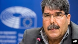 Turkey's official news agency, Anadolu, and a Syrian Kurdish official said, Feb. 25, 2018, that Czech authorities have detained Salih Muslim, former co-chair of the Democratic Union Party, or PYD, under an Interpol red notice based on Ankara's request for his arrest.