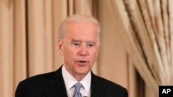 Le vice-président des États-Unis Joe Biden