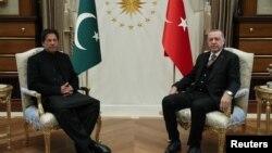 جمهور رئیس رجب طیب اردوغان او د پاکستان صدراعظم عمران خان