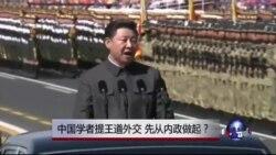 焦点对话:中国学者提王道外交,先从内政做起?