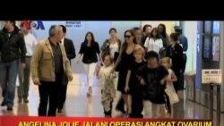 VOA Pop News - Angelina Jolie Jalani Operasi Angkat Ovarium