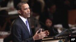 Presiden Barack Obama dijadwalkan akan berpidato di depan majelis umum PBB hari ini (25/9).