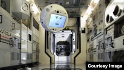 CIMON (Crew Interactive Mobile CompanioN) is a mobile and autonomous assistance system designed to aid astronauts with everyday tasks on the ISS. This will be the first form of Artificial Intelligence (AI) on an ISS mission. (Airbus)