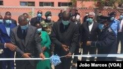 Ministros Eugénio Laborinho e Pedro Sebastião inauguram CISP em Benguela, Angola