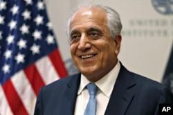 طالبان کے ساتھ امن مذاکرات کے لیے خصوصی امریکی سفارت کار زلمے خلیل زاد
