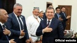 Shavkat Mirziyoyev saylovchilar bilan uchrashuvda