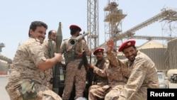 Hêzên tevgera Husîyên li Yemenê (Arşîv)