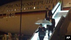 La canciller alemana, Angela Merkel, tuvo que cancelar su viaje a Argentina para asistir a la cumbre del G20 después de una falla técnica del avión el jueves 29 de noviembre de 2018.