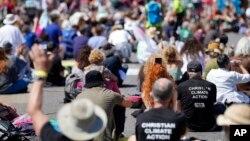 Акции протеста во время саммита G7 в Фалмуте, Корнуолл, Англия, 12 июня 2021 года