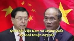 Quốc hội Việt Nam và Trung Quốc ký thoả thuận hợp tác