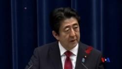 2015-10-06 美國之音視頻新聞: 日本首相希望中國未來能夠加入TPP